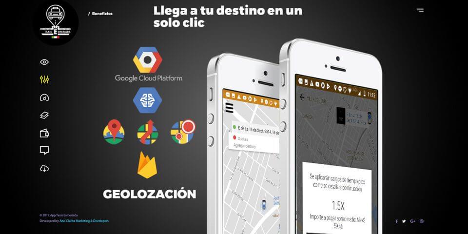 Desarrollo de App Taxis Esmeralda