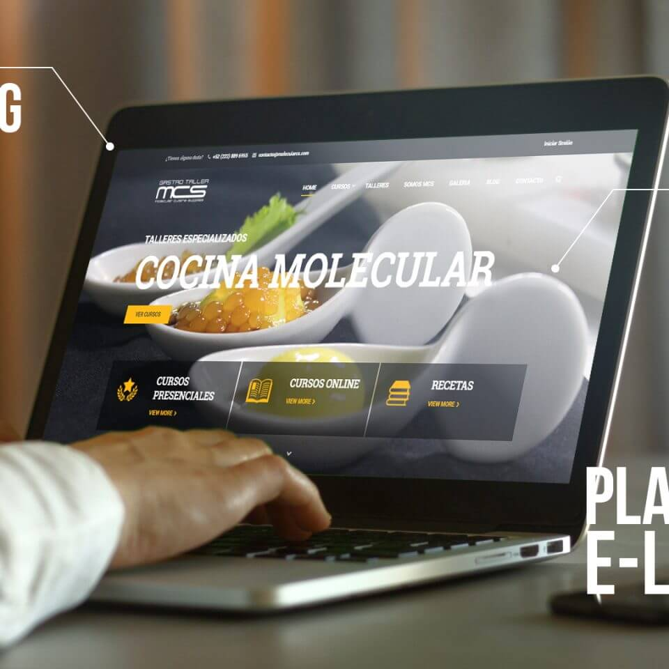 Desarrollo plataforma cursos en linea | E-learning MCS